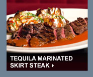 Tequila Marinated Skirt Steak