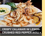 Crispy Calamari w/ Lemon-Crushed Red Pepper Aioli