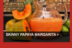 Skinny Papaya Margarita