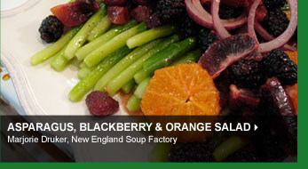 Asparagus Blackberry &amp; Orange Salad