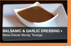 Balsamac &amp; Garlic Dressing