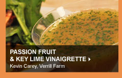 Passion Fruit &amp; Key Lime Vinaigrette