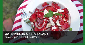 Watermelon &amp; Feta Salad