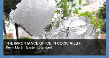 The Importance of Ice in Cocktails