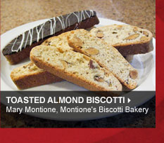 Toasted Almond Biscotti