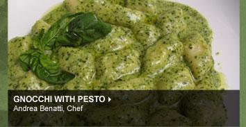 Gnocchi with Pesto