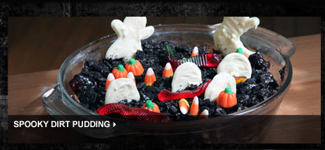 Spooky Dirt Pudding