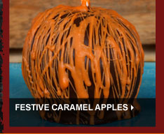 Festive Caramel Apples