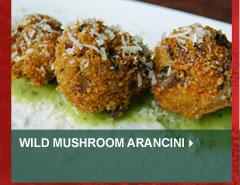 Wild Mushroom Arancini