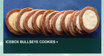 Icebox Bullseye Cookies