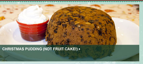 Christmas Pudding (Not Fruit Cake)