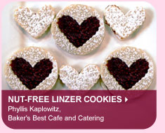 Nut-free Linzer Cookies