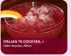 Italian 75 Cocktail