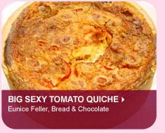 Big Sexy Tomato Quiche