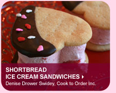 Shortbread Ice Cream Sandwiches